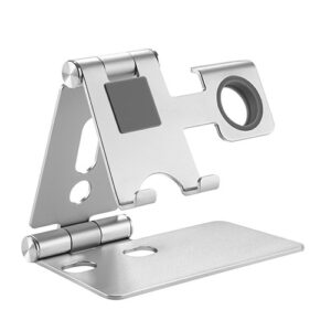 Brateck-PHS01-2-Brateck 2 in 1 Foldable Cell Phone and Smartwatch Stand (≤6.5'')