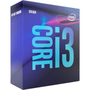 Intel-P-BX80684I39100-P-Intel Core i3-9100 3.6Ghz s1151 Coffee Lake 9th Generation Boxed 3 Years Warranty