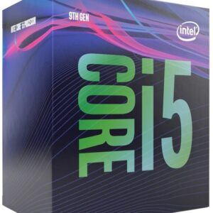 Intel-P-BX80684I59400F-P-Intel Core i5-9400F 2.9GHz (4.1GHz Turbo) LGA1151 9th Gen 6-Cores 6-Threads 9MB 8GT/s 65W Dedicated Graphic Required Retal Box 3yrs Coffee Lake