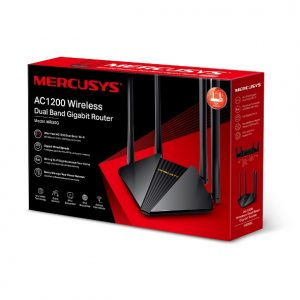 TP-LINK-MR30G-Mercusys MR30G AC1200 Wireless Dual Band Gigabit Router