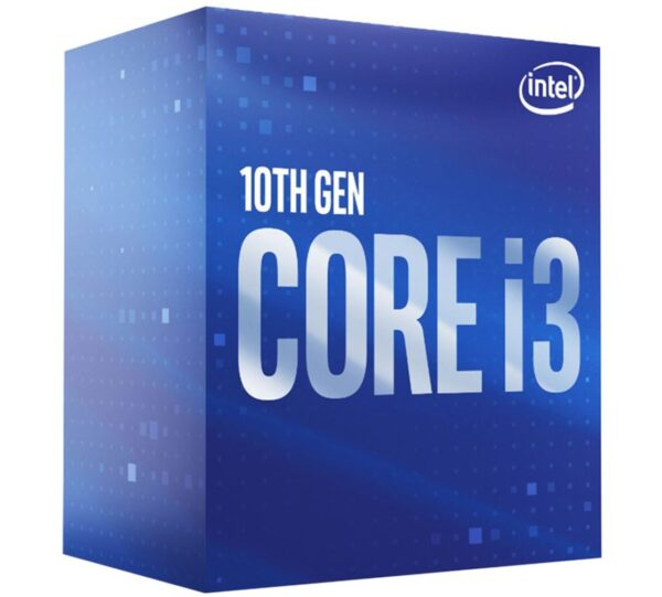 8ware-BX8070110100F-P-Intel Core i3-10100F CPU 3.6GHz (4.3GHz Turbo) LGA1200 10th Gen 4-Cores 8-Threads 6MB 65W Graphic Card Required Retail Box 3yrs Comet Lake