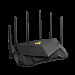 ASUS-TUF-AX5400-ASUS TUF-AX5400 Dual Band WiFi 6 Gaming Router With Dedicated Gaming Port