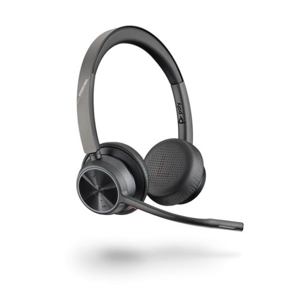 Plantronics / Poly-218478-02-Plantronics/Poly Voyager 4320 UC with Charge Stand