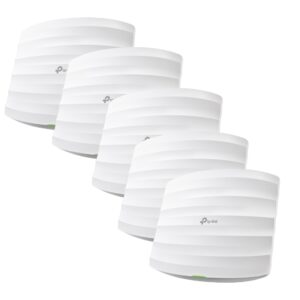 TP-LINK-EAP245(5-pack)-TP-Link EAP245(5-pack) AC1750 Wireless MU-MIMO Gigabit Ceiling Mount Access Point