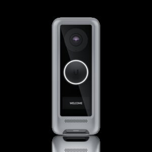 Ubiquiti-UVC-G4-DB-Cover-Silver-Ubiquiti UniFi Protect G4 Doorbell Silver Cover