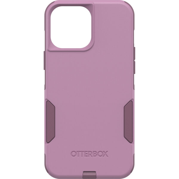 Otterbox-77-83452-OtterBox Apple iPhone 13 Pro Max Commuter Series Antimicrobial Case (77-83452) -  Maven Way (Pink) - Secure grip for confident handling