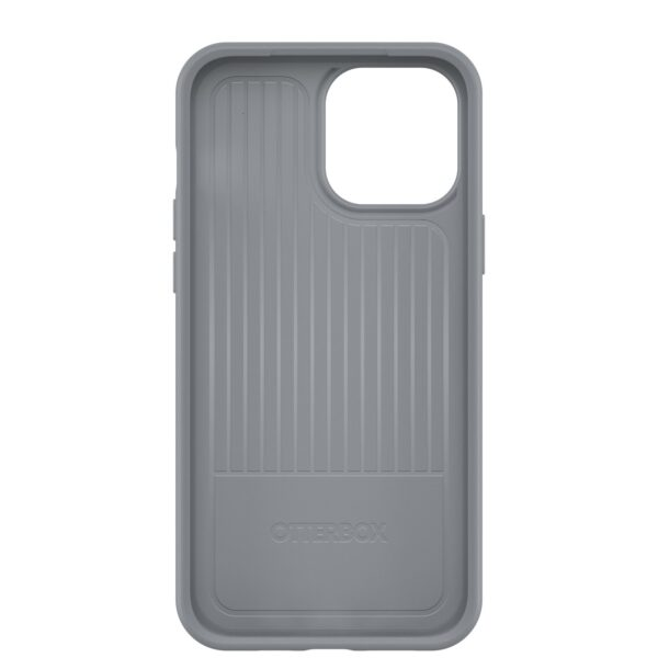 Otterbox-77-83488-OtterBox Apple  iPhone 13 Pro Max Symmetry Series Antimicrobial Case (77-83488) - Resilience Grey - Thin profile slips easily into tight pockets