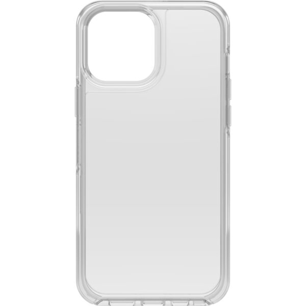 Otterbox-77-83505-OtterBox iPhone 13 Pro Max Symmetry Series Clear Antimicrobial Case (77-83505) - Clear - Protect case exterior against many common bacteria
