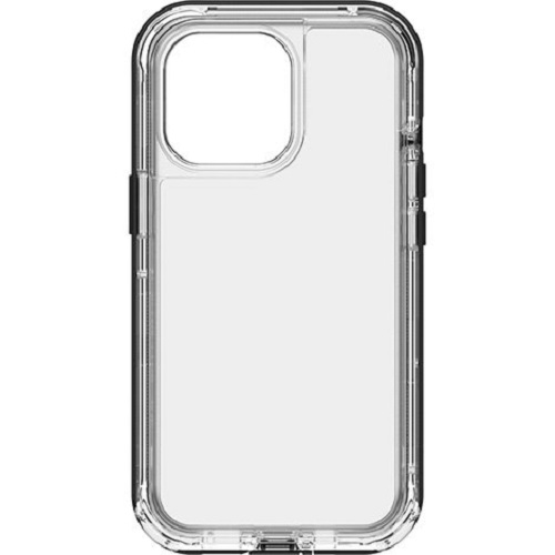 Otterbox-77-83513-LifeProof NEXTAntimicrobial Case For Apple  iPhone 13 Pro - (77-83513) Black Crystal (Clear/Black)