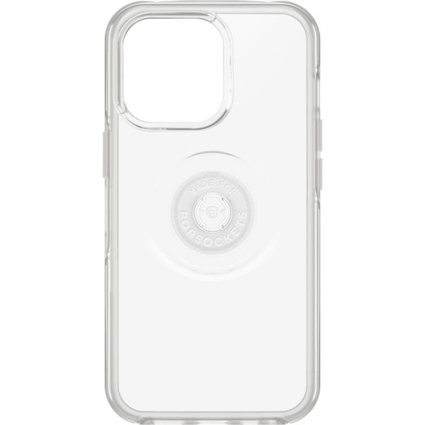Otterbox-77-83543-OtterBox Apple iPhone 13 Pro Otter + Pop Symmetry Series Antimicrobial Case - Black (77-83543)