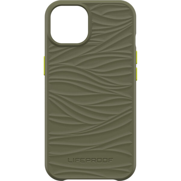 Otterbox-77-83564-LifeProof WAKE Case for Apple  iPhone 13  - Green( 77-83564 ) - Mellow wave pattern