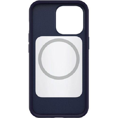 Otterbox-77-83590-OtterBox Apple iPhone 13 Pro Symmetry Series+ Antimicrobial Case with MagSafe - Navy Captain (Blue) 77-83590