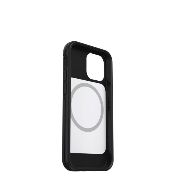Otterbox-77-83594-OtterBox Apple iPhone 13 mini Symmetry Series+ Antimicrobial Case with MagSafe (77-83594) - Black - Convenient open access to ports and speakers