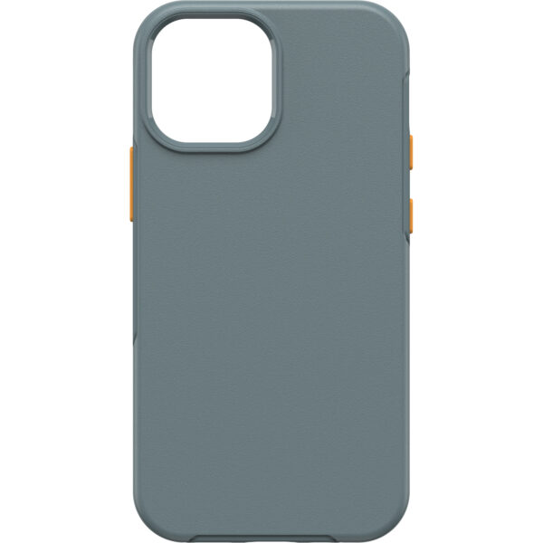 Otterbox-77-83703-LifeProof SEE Case with Magsafe for iPhone 13 Mini (77-83703)- Anchors Away (Grey/orange) - DropProof