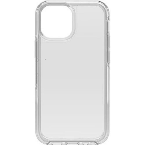 Otterbox-77-83717-OtterBox Apple iPhone 13 mini Symmetry Series Clear Antimicrobial Case (77-83717) - Clear - Clear case shows off your device