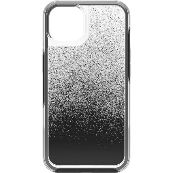 Otterbox-77-85305-OtterBox Apple iPhone 13 Symmetry Series Clear Antimicrobial Case - Ant Ombre Spray( 77-85305) - Clear case shows off your device