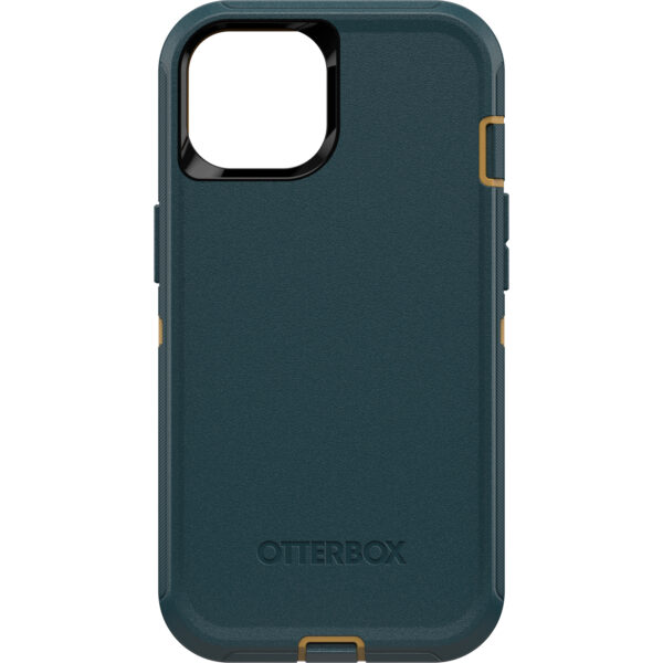 Otterbox-77-85439-OtterBox Apple  iPhone 13 Defender Series Case - Hunter green( 77-85439) - Screenless design provides flawless touch response