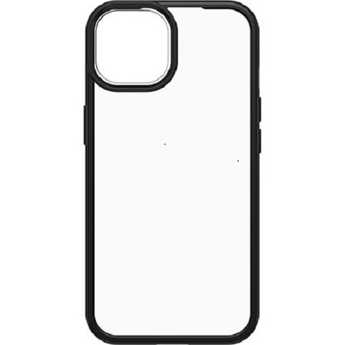 Otterbox-77-85584-OtterBox Apple  iPhone 13 React Series Case - Clear / Black ( 77-85584 ) - Raised screen bumpers help protect touchscreen