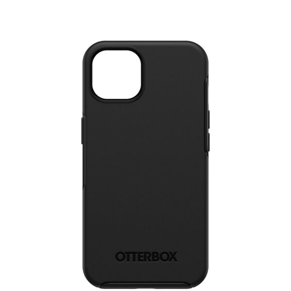 Otterbox-77-85616-OtterBox Apple  iPhone 13 Symmetry Series+ Antimicrobial Case with MagSafe - Ant Black(77-85616) - Convenient open access to ports and speakers