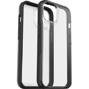 Otterbox-77-85650-LifeProof SEE CASE FOR APPLE iPHONE 13 -  Clear/Black(77-85650) - Sustainably made from 50% recycled plastic