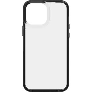 Otterbox-77-85707-LifeProof SEE Case for Apple  iPhone 13 Pro Max (77-85707) - Black Crystal (Clear/Black) - Ultra-thin