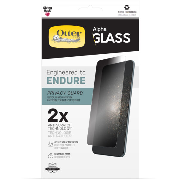 Otterbox-77-85912-OtterBox Apple iPhone 13 mini Alpha Glass Screen Protector (77-85912) - Clear - Avoid scratches and splinters