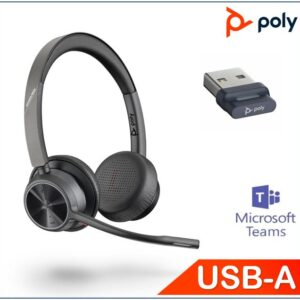 Polycom Asia Pacific Pte Ltd-218475-02-Plantronics/Poly Voyager 4320 UC with usb-A dongle