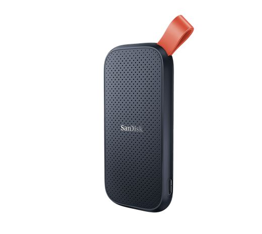 Sandisk-SDSSDE30-480G-G25-SanDisk Portable SSD SDSSDE30 480GB USB 3.2 Gen 2 Type C to A cable Read speed up to 520MB/s 2m drop protection 3-year warranty